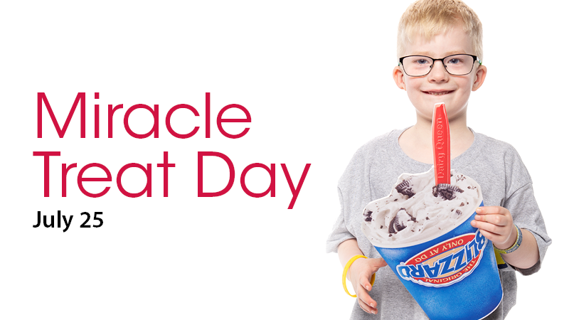 Children's Miracle Network Hospitals Miracle Treat Day